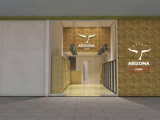 Carnes e Cortes Especiais Shopping Centers rústicos por Arquiteto e Urbanista Ricardo Pereira Macedo Rústico