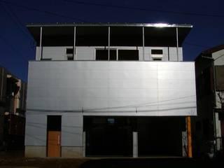 エレベーション テックんの基地: 石井淳アトリエが手掛けた家です。