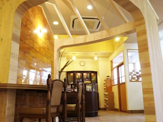 GARDEN: 浅野翼建築設計室が手掛けた和室です。,モダン