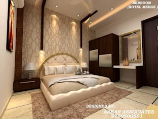 Bedroom by aakarconstructions, Modern