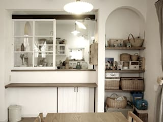 ジャストの家 Scandinavian style kitchen