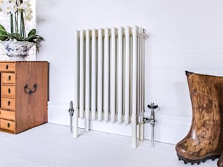 Urban chic radiator designs Feature Radiators ตกแต่งภายใน เหล็ก White