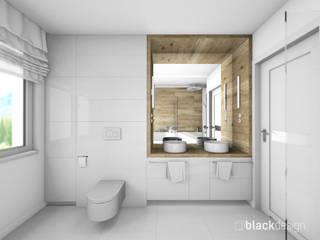 Łazienka dla dwojga, z prysznicem i wanną Klasyczna łazienka od black design Klasyczny