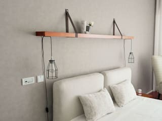 SUITE PARTICULAR, 2015 - BRAGA: Quartos  por Ci interior decor