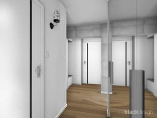 Pasillos, vestíbulos y escaleras industriales de black design Industrial