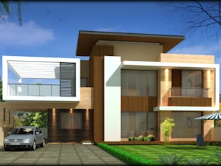 Residential projects Modern houses by Ingenious Modern