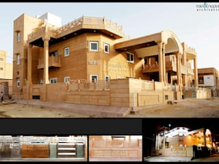 RAVI - NUPUR ARCHITECTS Classic style houses