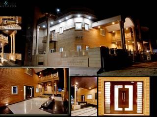 Casas de estilo  por RAVI - NUPUR ARCHITECTS, Clásico