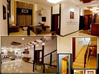 Salas / recibidores de estilo  por RAVI - NUPUR ARCHITECTS, Clásico
