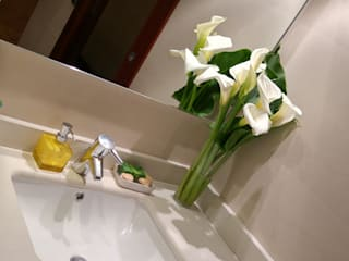 Baño 1 en Donosti: Baños de estilo  de Gala Feng Shui Interiorismo online en Azpeitia