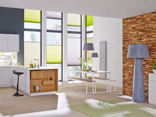 Livings de estilo  por Rimini Baustoffe GmbH