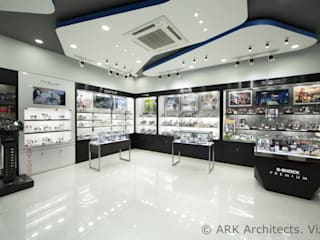Watch Show Room:  Commercial Spaces by ARK Architects & Interior Designers