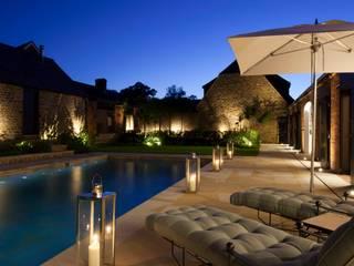 Pool Janine Stone Design Piscinas campestres Pedra Azul
