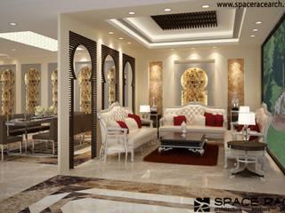 Salones clásicos de SPACE RACE ARCHITECTS Clásico