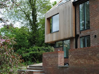 House in Winchester IV LA Hally Architect 現代房屋設計點子、靈感 & 圖片