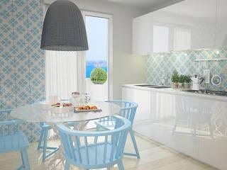 cucina mediterraneo Cucina moderna di olivia Sciuto Moderno