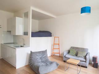 Bedroom by Olivier Olindo Architecte