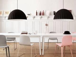 Pensa in Rosa: Pantone 2016 i colori pastello!: Sala da pranzo in stile in stile Scandinavo di Design for Love