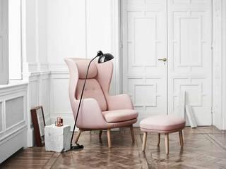 Pensa in Rosa: Pantone 2016 i colori pastello!: Soggiorno in stile in stile Scandinavo di Design for Love