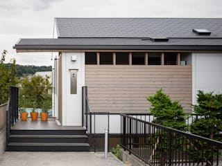 日野の家 Kawakatsu Design モダンな 家