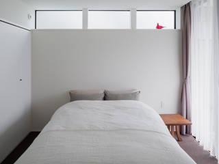 Kawakatsu Design Dormitorios de estilo moderno