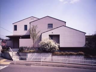 外観: 山中康廣建築設計事務所&YAMANAKA DESIGN OFFICEが手掛けた家です。