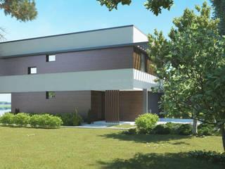 Nowoczesny projekt domu uA16 od uArchitekta Nowoczesny
