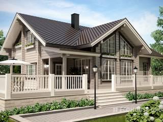 Монте Дома в классическом стиле от EcoHouse Group Классический