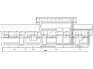 Клевер макси Дома в скандинавском стиле от EcoHouse Group Скандинавский
