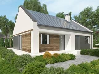 Tani projekt domu uA11 od uArchitekta