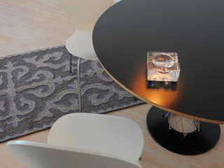 shyrdakjurte Modern dining room Grey