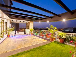 SADHWANI BUNGALOW Modern garden by Square 9 Designs Modern