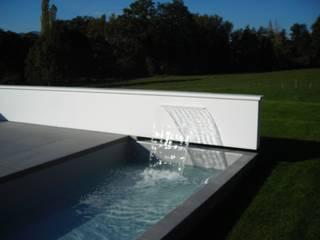 Projet de piscine design et moderne à Aix les Bains A2D Piscines Piscine moderne
