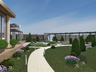 studio forma Mediterranean style gardens