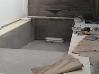 Piscina: Piletas de estilo  por FILIPPIS/DIP - DISEÑO Y CONSTRUCCION