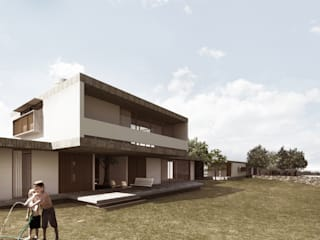 Houses by Coletivo de Arquitetos, Country