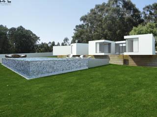 Minimalist house by PFS-arquitectura Minimalist