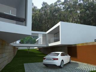 CASA RF_VILA DO CONDE_2011 Casas minimalistas por PFS-arquitectura Minimalista