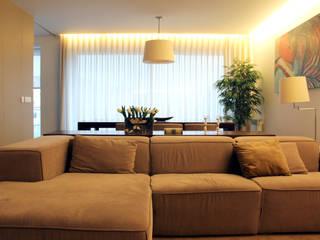 Modern Living Room by PFS-arquitectura Modern