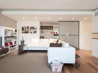 Studio Associato Casiraghi Minimalist living room White