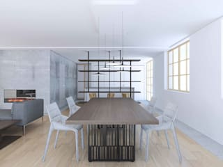 Dining room by Studio Associato Casiraghi,