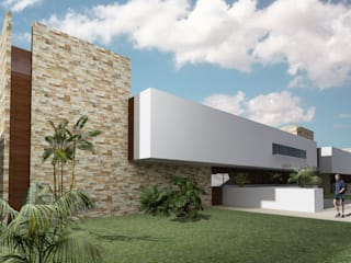 Modern Houses by CARCO Arquitectura y Construccion Modern Concrete