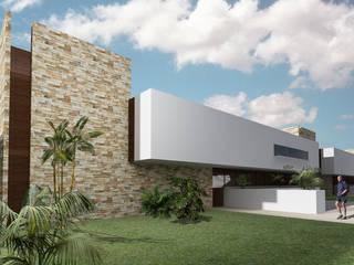 CARCO Arquitectura y Construccion Casas modernas Concreto Blanco