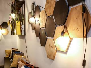 buki buki: Negozi & Locali commerciali in stile  di Arch. Francesca Timperanza, Industrial