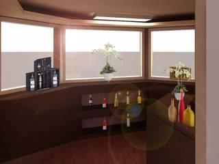 Modern Home Wine Cellar by Perfil Arquitectónico Modern