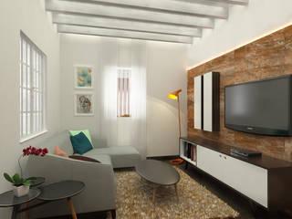 Sala: Salas de estilo  por Kuro Design Studio