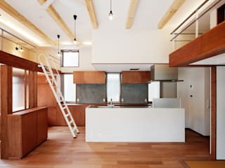 Kitchen by &lodge inc. / 株式会社アンドロッジ, Modern Tiles