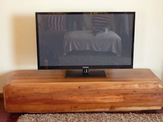 GreenCube Design Pty Ltd Living roomTV stands & cabinets Wood
