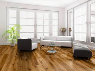Paredes y pisos modernos de Hain Parkett Moderno