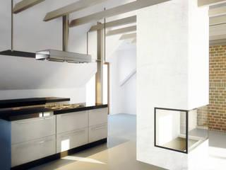 Cocinas de estilo minimalista de biuro95 Minimalista